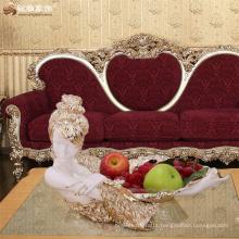 Modern home decoration pieces custom tabletop craft resin beauty shape fruit plate fruit bowl