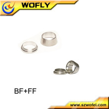 front and back tube compression fitting stainless steel ferrule