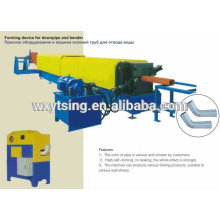 Passed CE and ISO YTSING-YD-0631 Full Automatic Downspout Pipe Roll Forming Machine