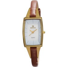 Hot sale geniune leather branded wrist watches for girls