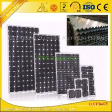Profil en aluminium d'extrusion de panneau solaire pour le cadre de panneau solaire