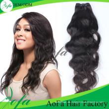 Guangzhou Aofa natürliche Welle reines Haar Menschenhaarverlängerung