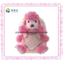 Pink Fashion Dog Plüsch Rucksack