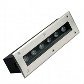 Lineares schwarzes 6W LED Inground Licht