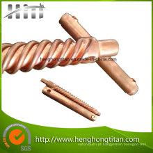Tubo de espiral de transferência de calor eficiente