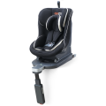 Baby car seats with red black covers