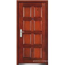 Стальные деревянные двери (LT-206)