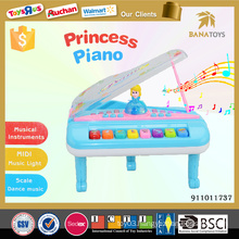 Plastic piano musical instrument toy baby games