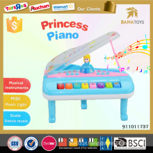 Plástico piano instrumento musical brinquedo bebê jogos
