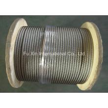 Corda de fio de aço inoxidável Ss