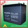 12В 85ah глубокий геля цикла батарея для Гольф-кары
