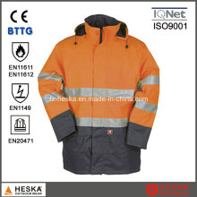 Padding Reflective Safety Fire-Protection Jacket