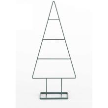 KINDOME Amazon Hot Sale New Design Creative Modern Metal Frame Christmas Trees Decorations