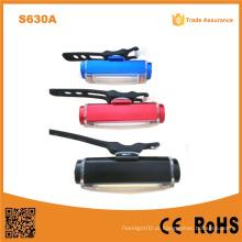 S630A 2015 Novos acessórios da bicicleta COB Luz USB recarregável LED Bike luz traseira