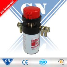 Caudalímetro para control de consumo de aceite