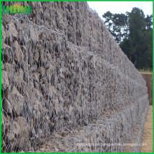 Cesta de gavión de la pared de piedra del gabion de la alta calidad del precio de fábrica
