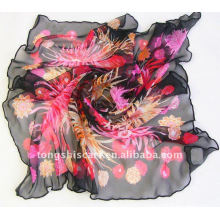 2013 fashion Flower print scarf