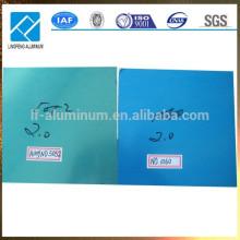 En venta Sábanas de aluminio libre de la muestra con la película o el papel azul