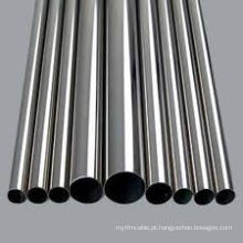 Tubo sem costura de aço inoxidável AISI 304