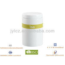hot selling canister with silicone band for tea, sugar or coffee