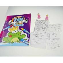 Enfants enfants peinture couleur remplissage imprimable colorie livre à colorier