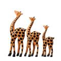 Las fuentes de arte al por mayor de la marca FQ forman arte de madera del juguete de la jirafa