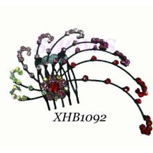 Ювелирные изделия волос способа / расческа волос диаманта / гребень волос (XHB1092)