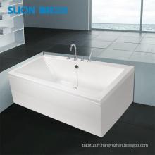 Baignoire acrylique, baignoire standard, baignoire autonome peu coûteuse