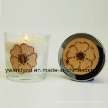 Glass Scented Wedding Gift Candles for Decoration