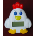Promotional Plastic Cartoon Cock Kitchen Timer
