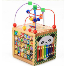 Hot sale Factory for Wooden Toys For Kids 6 in 1 Wooden Bead Maze Educational Toy supply to Eritrea Manufacturer