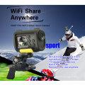 Melhor mini hd completo 1080p wifi ação esporte câmera digital com wi-fi