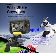 Лучший мини-Full HD HD 1080p Wi-Fi спортивный цифровой фотоаппарат с Wi-Fi