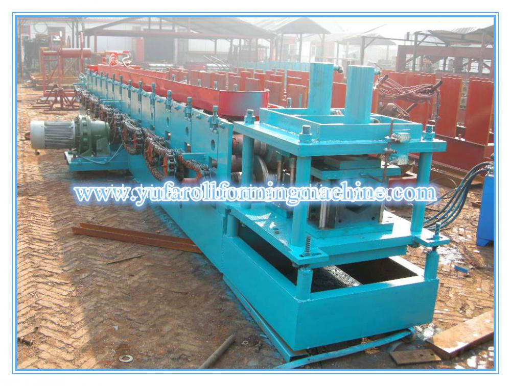 gutter rolling machine