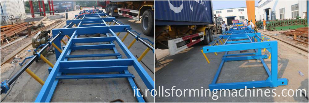 Trapezoid Roofing Panel Roll Forming Mahcine 05