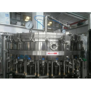 Ligne de production de machines de fabrication de boissons gazeuses automatiques