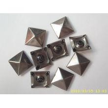 Balles métalliques personnalisées de classe A avec des brads artisanaux en métal argent / or / bronze