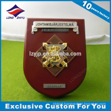 Custom metal shield award trophy with high quality for sale
