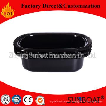 Sunboat Bakeware Enamel Big Tray /Deep Bake Plate/ Tray
