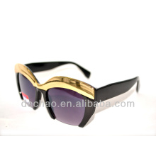 2014 designer sunglasses with half-rim from yiwu for wholesale