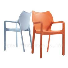 Mobília de pátio exterior poltrona de plástico (sp-uc470)