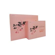 Wholesale lamination makeup brushes customize print cosmetic paper box