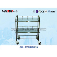 Stainless steel equipment trolley