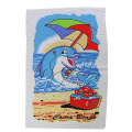 Poliester Magic Beach Towel Sublimation