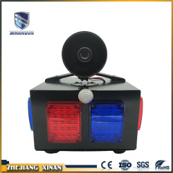 portable wiress detection audible visual alarm