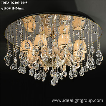 murano candle chandelier ceiling mount light fixture