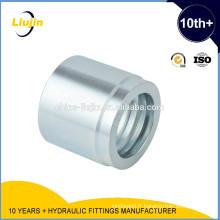 Embout de tuyau hydraulique SAE 100R2 AT / EN853 2SN