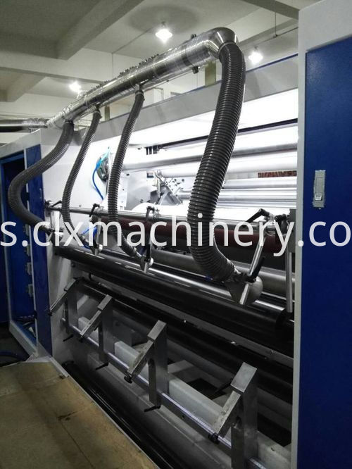 wrapping film making machine