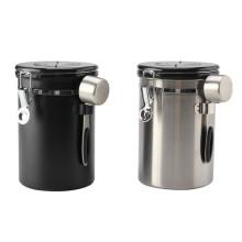 Воздухонепроницаемая канистра для кофе, встроенный клапан для сброса газа CO2