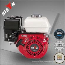 BISON China 6.5HP Sinlge Zylinder OHV 168F-1 6.5HP Benzinmotor mit Reduzierung